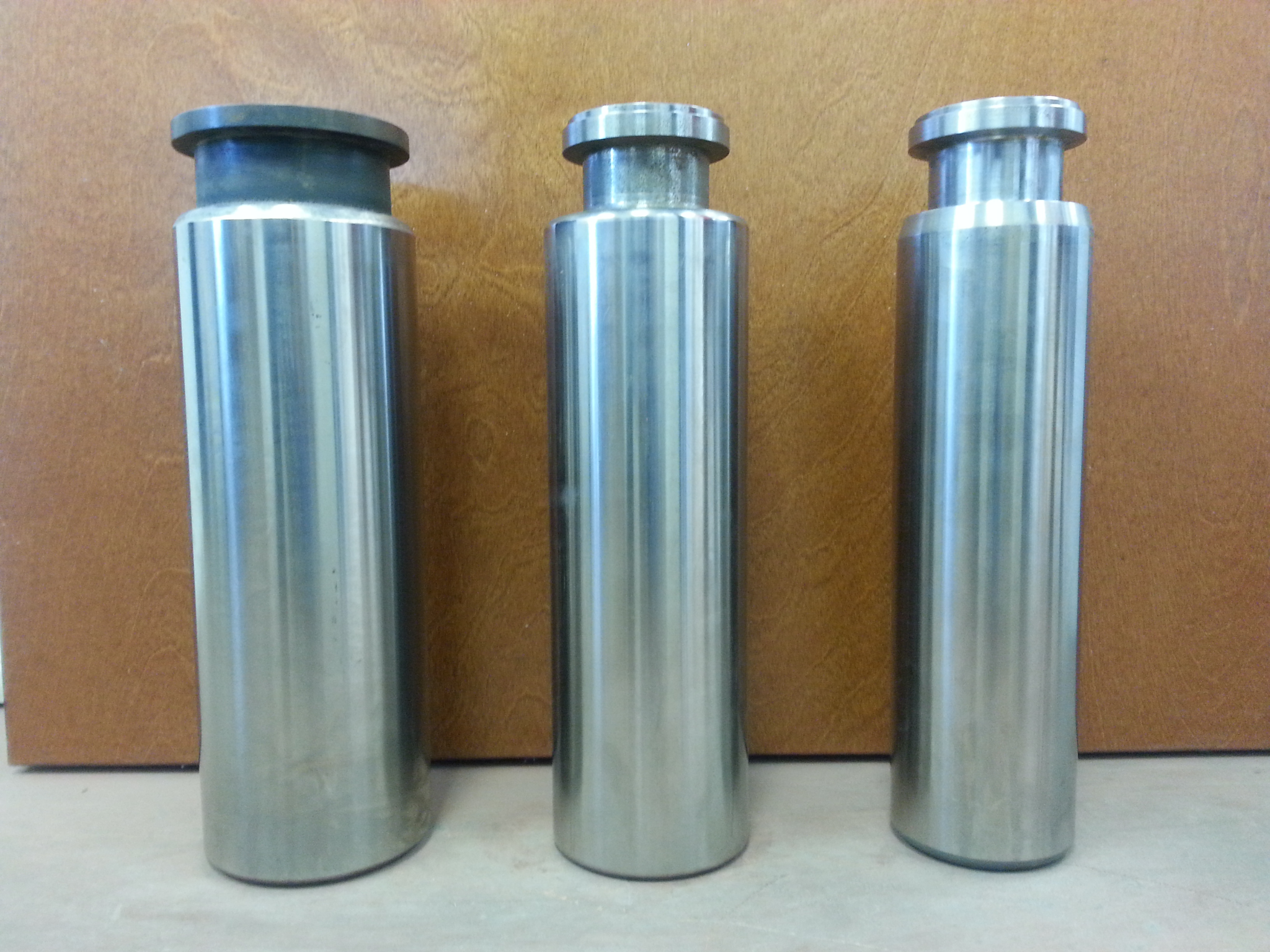Silver cylinders